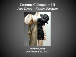 A Past Dress - Future Fashion